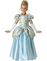 InCharacter Costumes, LLC Girls 7-16 Enchanting Princess Ball Gown Set, Light Blue, 10