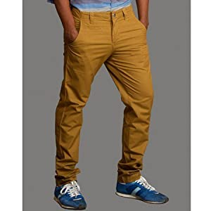 Khaki Chinos | Size Small | Color Beige