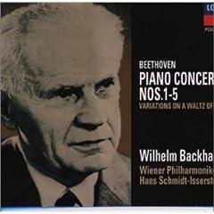 バックハウス独奏 ベートーヴェン : ピアノ協奏曲全集&《ディアッベリ変奏曲》の商品写真