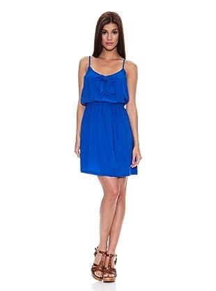 Springfield Vestido Vestido Plana (Azul)