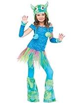 Blue Beastie Costume - Small (4-6)