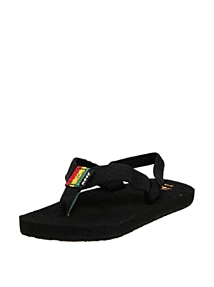 Reef Chanclas Casual (Negro/Multicolor)