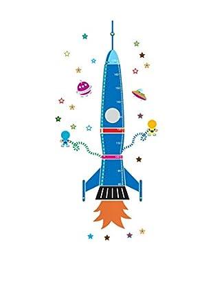 LO+DEMODA Wandtattoo Rocket