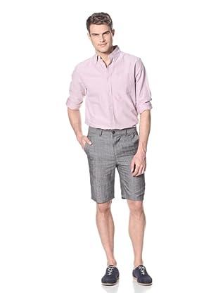 Dorsia Men's Lewis Short (Pink Pinstripe)