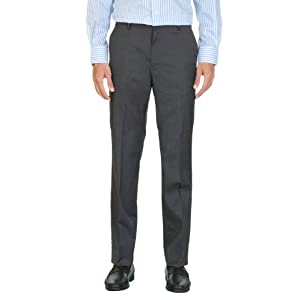 Formal Slim Fit Solid Trousers