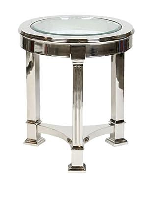 Prima Design Source 3 Legged Accent Table, Nickel