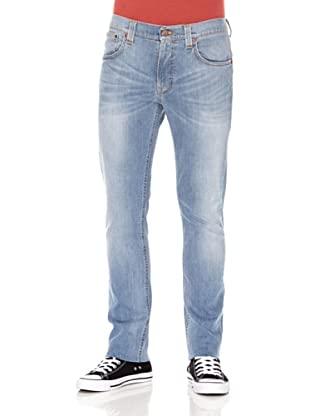 Nudie Jeans Pantalón Tape Ted (Azul muy desgastado)