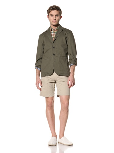 Standard Issue by Hyden Yoo Men's Jossman Blazer (Military Green)