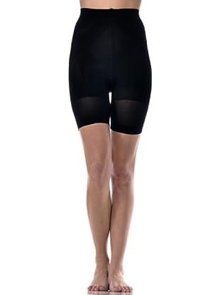Beautiful Secret Panty Medio Modelador Y Anti Celulítico Con Aloe Vera (Negro)