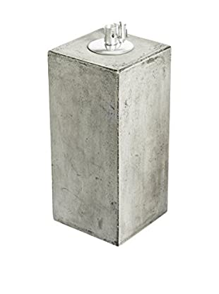 My Spirit Garden Eco-Concrete Honoo Oil Lamp Medium, Stone Grey