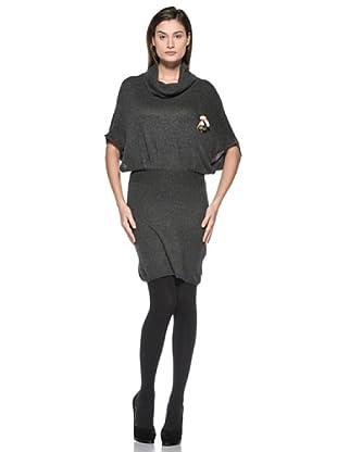 Kate Cut Vestito Kimono (Grigio scuro)