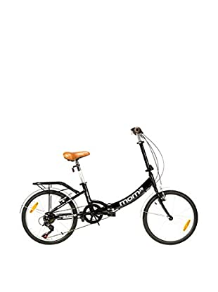 MOMA BIKES Bicicletta Pieghevole Folding Bike 20 Alu 6V First Class Nero