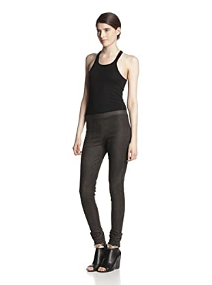 Rick Owens Women's Stretch Leather Legging (Dark Dust)