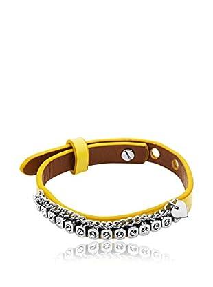 Dyrberg/Kern Armband Titania Ss Yellow silber/gelb