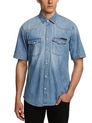 Jack and Jones Vintage Camisa Toby (Azul)