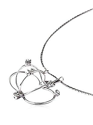 Crystal from Swarovski Collar Plateado