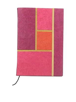 Marina Vaptzarov Daphne Paper Hardcover Notebook, Pink