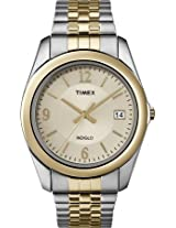 Timex Analog Champagne Dial Men's Watch - T2N3166S