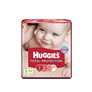 Huggies Total Protection Diapers (Small) - 46 Count