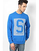 Blue Full Sleeve Sweatshirt