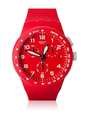 Swatch Quarzuhr Unisex Unisex RED SHADOW SUSR400 42.0 mm