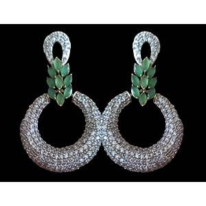 Aishwarya Cubic Zirconia Earring [Jewellery]