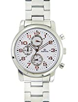 Maxima Attivo Analog Silver Dial Men's Watch - 26843CMGI
