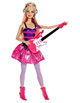 Barbie Careers Doll Fall Rock Star Doll 1, Multi Color
