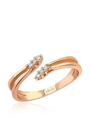 Divas Diamond Anillo Diamante Design (Oro)
