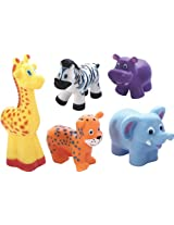 SQUEEZE TOYS COW,ELEPHANT, BEAR
