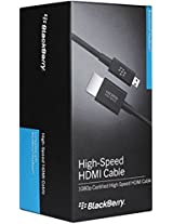 Blackberry Micro HDMI Data Cable - Retail Packaging - Black