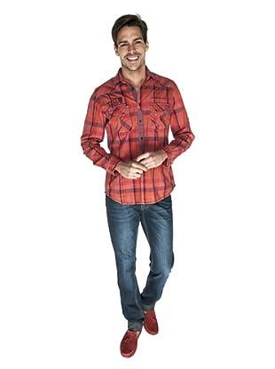 Giorgio Di Mare Camisa Tomaso (Rojo)