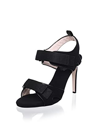 Red Valentino Women's Dual Strap Sandal (Black)