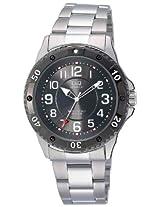 Q&Q Standard Analog Black Dial Men's Watch Q610J405Y