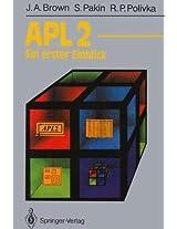 APL2: Ein erster Einblick (Informationstechnik und Datenverarbeitung)