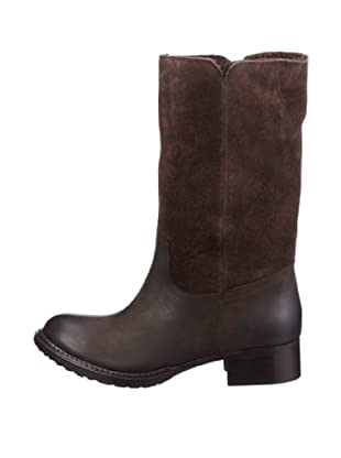 Buffalo London R 0122 OIL BUCK 135687 - Botas de cuero para mujer (Marrón)