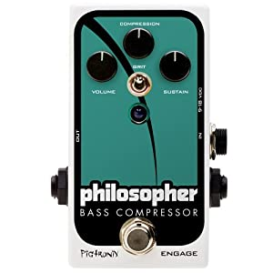 PIGTRONIX Philosopher's Bass Compressor