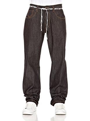 Grimey Wear Jeans Skate (Negro)