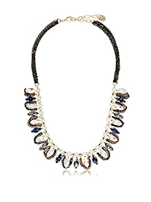 Stella & Ruby Deep Blue Droplet Necklace