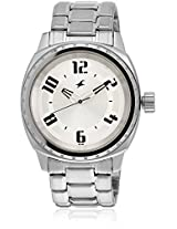 3071Sm03-Dd392 Silver Analog Watch Fastrack