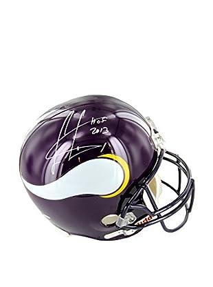 Steiner Sports Memorabilia Cris Carter Vikings Signed Replica Helmet With HOF Inscription