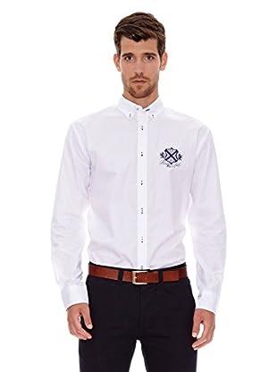 Spagnolo Camisa Popelín Montura (Blanco)