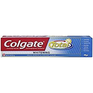 Colgate Total Whitening Toothpaste, 7.8 Ounce
