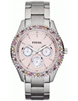 Fossil Designer Analog Pink Dial Women's Watch - ES3050