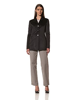 JIL SANDER Women's Silk Satin Jacket