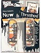 Tech Deck New and Thrashed Chris Haslam Almost 96mm Finger Skateboards