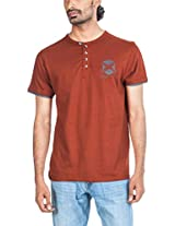 Zovi Men's Henley Cotton T-Shirt 103090033010S