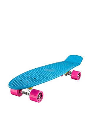 Ridge Skateboards Monopatín Big Brother Cruiser Azul / Fucsia