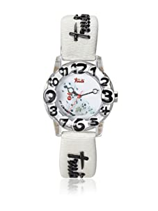 Trudi Kid's Dalmatian Watch, White/Black