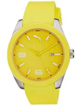 Puma Analog Yellow Dial Men's Watch - PU102701004